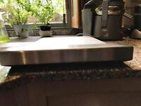 Griddle plate for range cooker