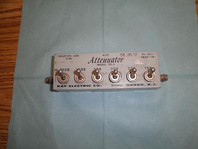 Kay Model 431c Attenuator Model 20-0