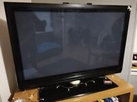 """Philips plasma TV 42"""" with stand"""