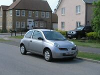 2004 Nissan Micra hatchback cheap to run, newer shape, not Almera Primera Corsa Astra Civic