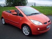 08 MITSUBISHI COLT CZC CONVERTIBLE HARD TOP! LIKE MINI 500 FIESTA CORSA CABRIOLET POLO 207 MICRA