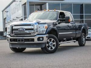 2011 Ford F-350 Lariat|Crew Cab| 4x4| Heated & Cooled Seats| Bac