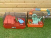 HAMSTER CAGES £10 EACH