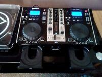 Gemini cdm3650 dual mp3 /CD mixing console