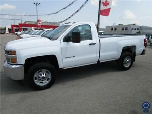 2017 Chevrolet Silverado 3500HD Regular Cab 4X4 w/8' Box