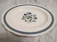 Alfred Meakin Blue Clover Serving Plate