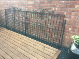 10ft Wide Wrought Iron Driveway Gates- can deliver