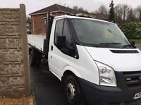 Ford transit 2.4 tipper 2008