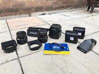 Bronica SQ-A Medium Format Film Camera Deluxe Kit