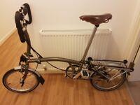Brompton P6R 17 6-Speed Collapsible Bike - Like New