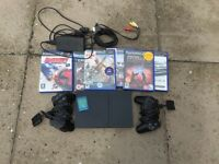 Playstation 2 Slim Bundle, Fully working. Bargain. NO OFFERS (Not xbox,psp,nintendo,pc)