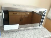 Swan stainless steel SM21041 900-Watt Combination Microwave