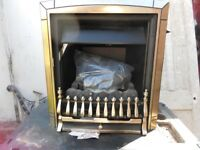 Gas Fire, with coals, never used