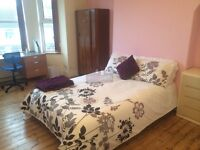 double large room available in a working professional house share