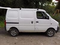 Suzuki Supercarry Van, Alloy Wheels, MOT until August. Perfect for campervan conversion!