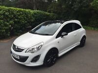 Vauxhall Corsa 1.2i 16v Limited Edition in white 3dr. One owner. and full service history.