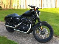 Harley Davidson Iron 883 sportster with Vance and Hines exhaust
