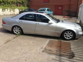 MERCEDES S320 AUTOMATIC SALOON SPARES OR REPAIR