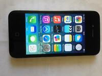iPhone 4 black 8gb 3 network