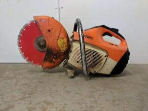 HOC - STIHL TS410 CONCRETE SAW QUICK CUT CUT OFF SAW + DIAMOND BLADE + FREE SHIPPING + 30 DAY WARRANTY