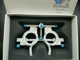 OCULUS UB4 TRIAL FRAME GENUINE OPTOMETRY