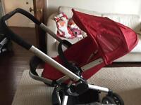 Used Quinny Buzz pushchair