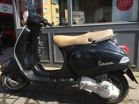 Piaggio Vespa LX 125cc (Black) 2005 Good condition