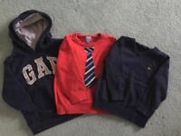3 x GAP jumpers - age 2 years