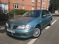 NISSAN ALMERA ACTIV 1.5,2001-REG,LOW MILAGE ONLY 66k DRIVES VERY WELL