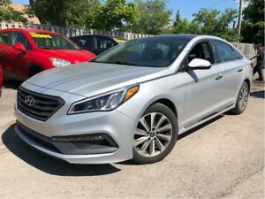 2015 Hyundai Sonata Sport LEATHER/CLOTH INTERIOR MOONROOF