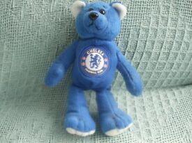 CHELSEA FOOTBALL CLUB. BEANIE BEAR.