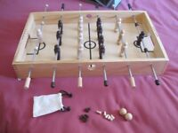 BNIB M&S WOODEN TABLE FOOTBALL GAME AGE 8+