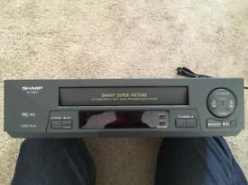 Sharp Video Recorder