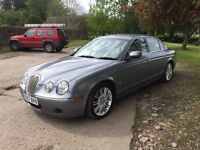 Jaguar s type 2.7tdv6 facelift model 6 speed auto 11 months mot