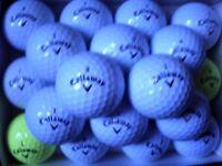 50 CALLAWAY GOLF BALLS IN MINT & PEARL GRADE.