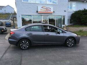 2015 Honda Civic Sedan EX Htd seats, S-Roof, LaneWatch