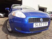 💥57 FIAT PUNTO GRANDE ACTIVE 65 1.2,MOT AUG 017,1 OWNER,PART SERVICE HISTORY,VERY RELIABLE💥