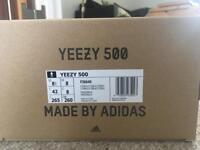 Adidas Yeezy Boost 500 Black size 8