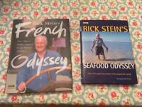 Rick Stein cook books. Signed x 1