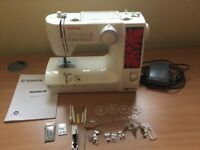 toyota quiltmaster excellent condition. incldes all normal feet and also a walking foot.