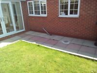 Paving slabs. Large amount. Collect from bessacarr