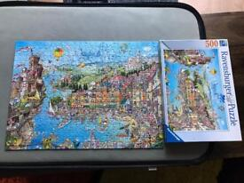 Ravensburger Pretty Italy Puzzle.
