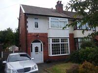 Attractive 3 Bed Semi - Bromwich Street, Bolton £650.00pcm