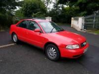 1996 AUDI A4 1.9 TDI 110 BHP MOT APRIL 18 £295 PARTS OR REPAIR