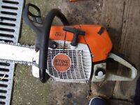 """Stihl MS 441 professional Chainsaw, 24"""" bar, Very very good condition"""