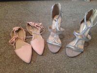 Immaculate heels