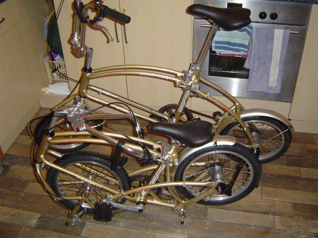 Folding Bicycles Two Carnielli Bigfish Folding Bikes In Aviemore