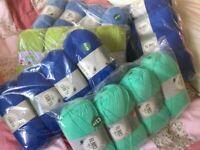 400grm packs DK. Wool