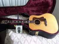 GUILD D60 , 1987 collecters model no 41 of 311