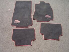 Jaguar XF floor mats from low mileage XFR